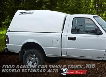 Modelo Estándar cabina simple Truck