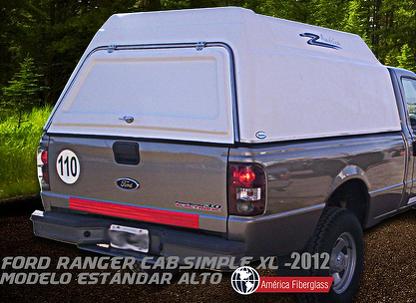 Modelo Estándar cabina simple XL